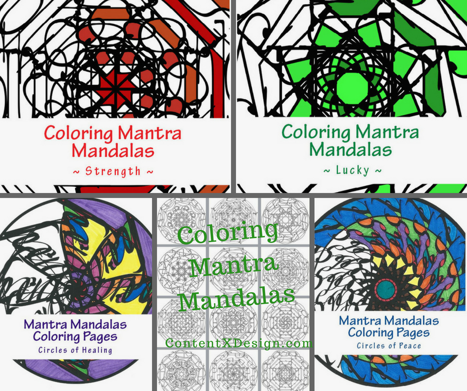 Mantra Mandalas Coloring Pages Yoga For Your Brain